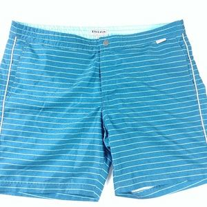 Ibiza Ocean Club Mens Swim Trunks Size 34×8